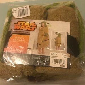 Star Wars Yoda Hooded Bath Towel
